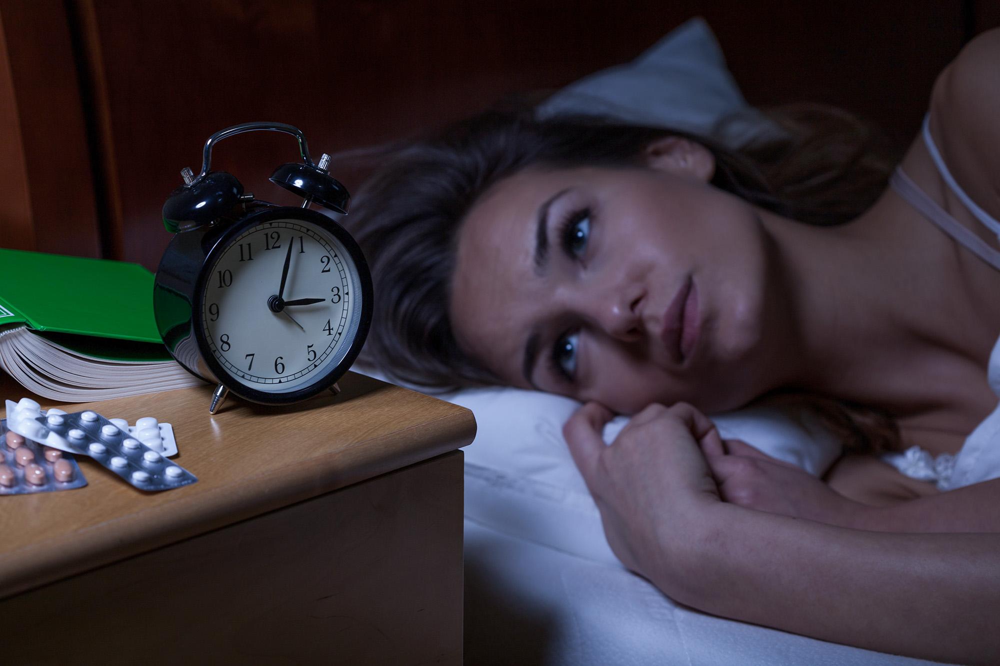 不眠症の原因とは