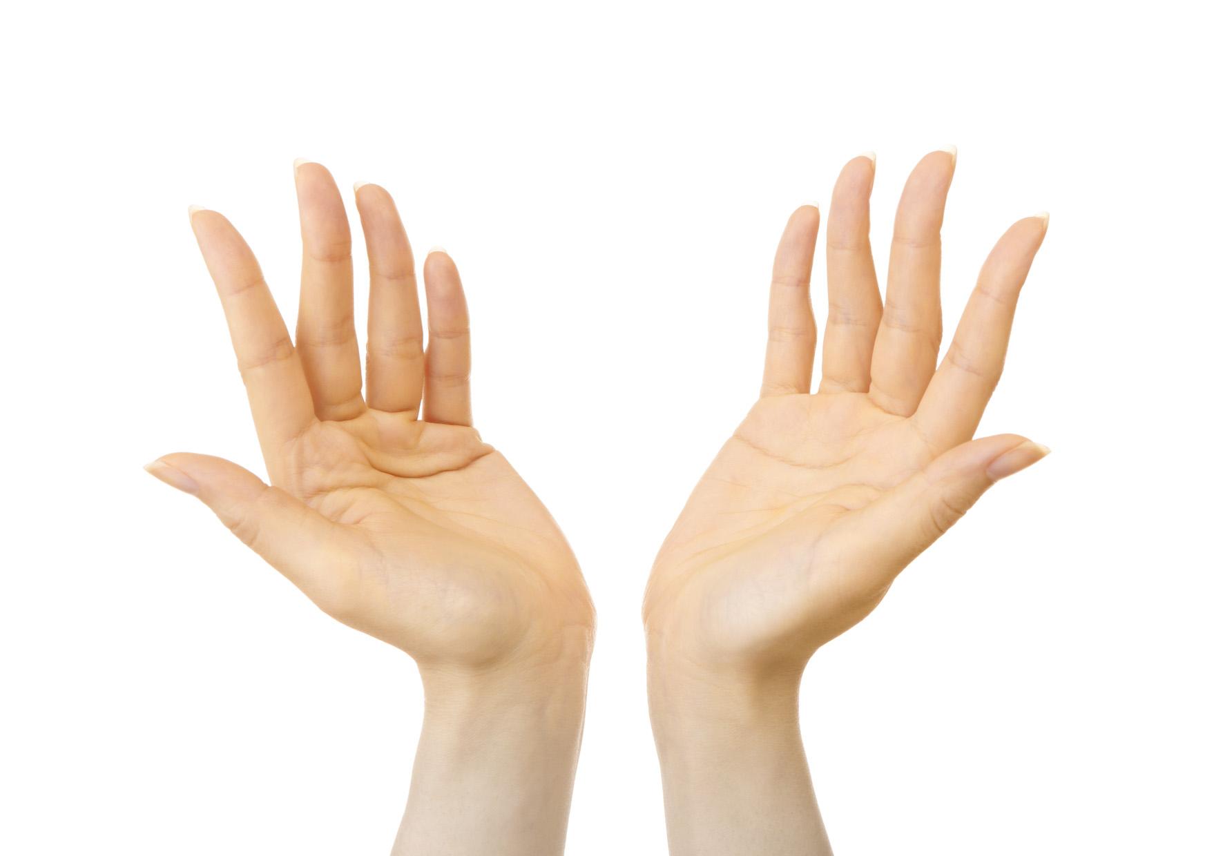 手が黄色い女性はPMSになりやすい!?