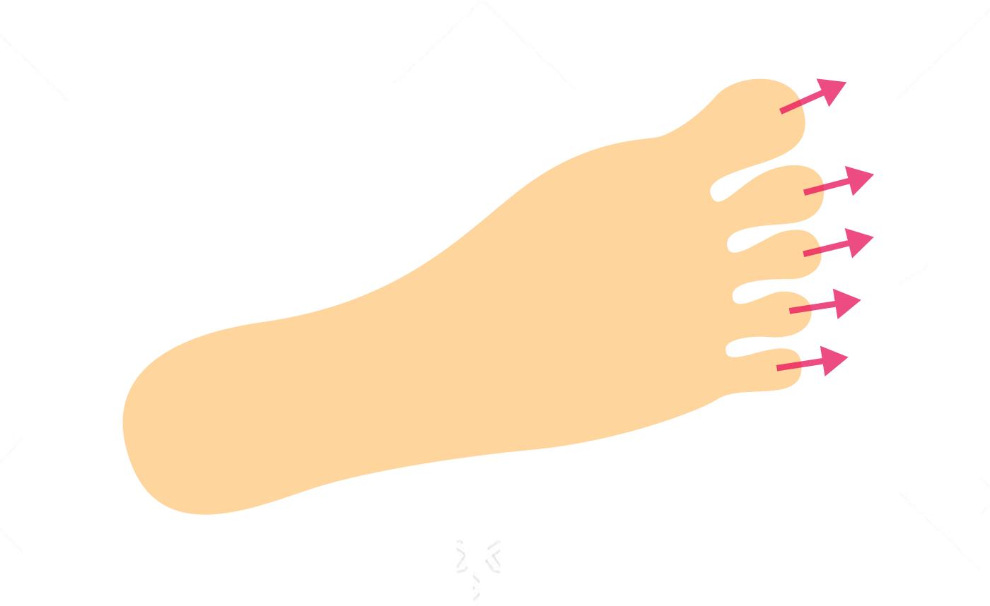 足の指を引っ張るだけで辛い疲れ目が解消する