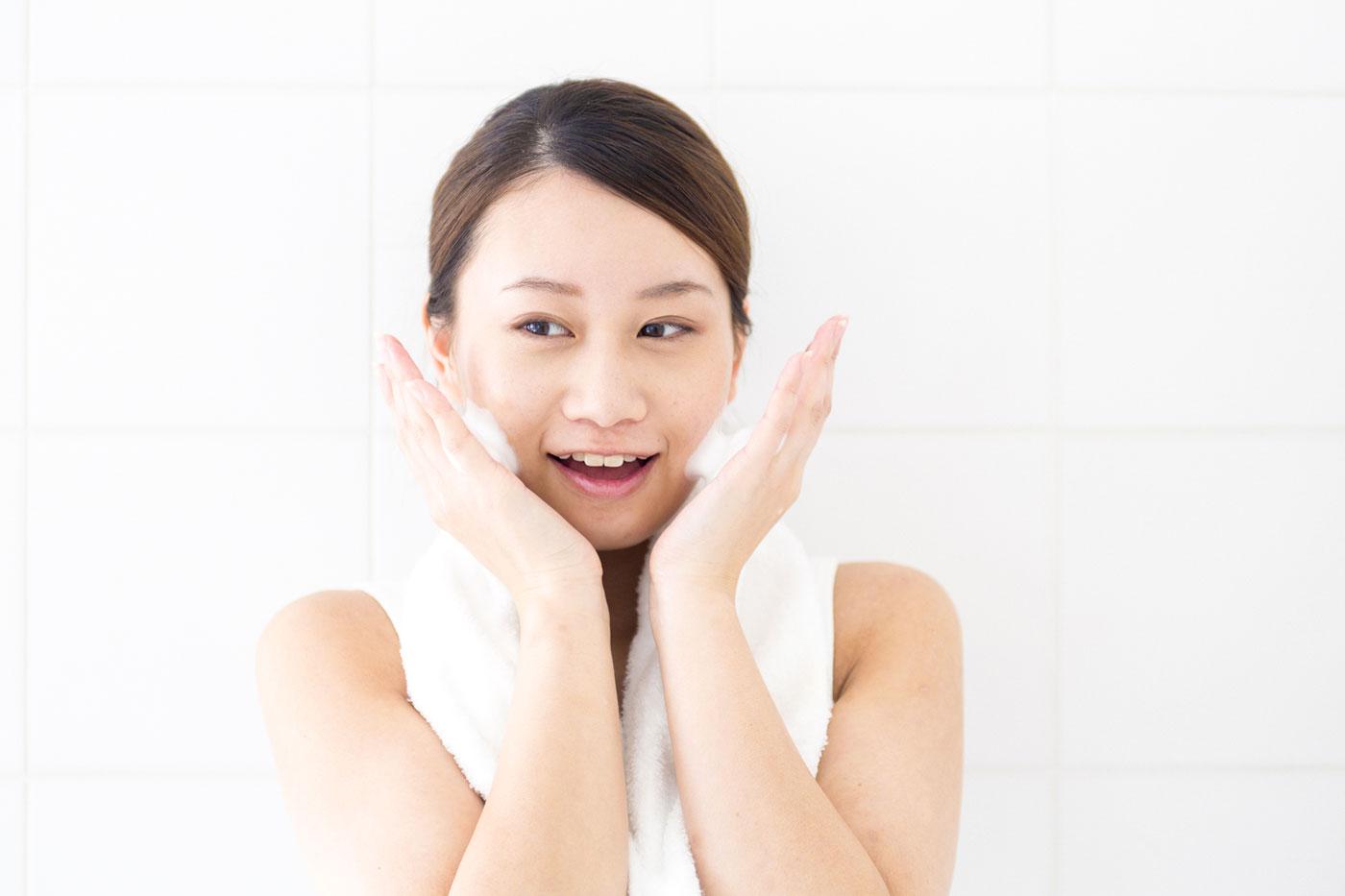 生理周期に合わせた洗顔方法