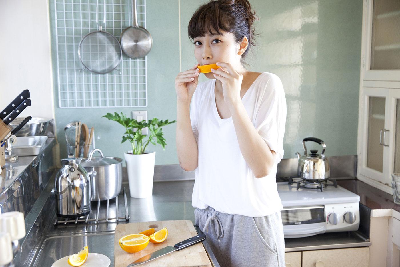 朝のオレンジもNG!?しみが定着してしまう3つの食材