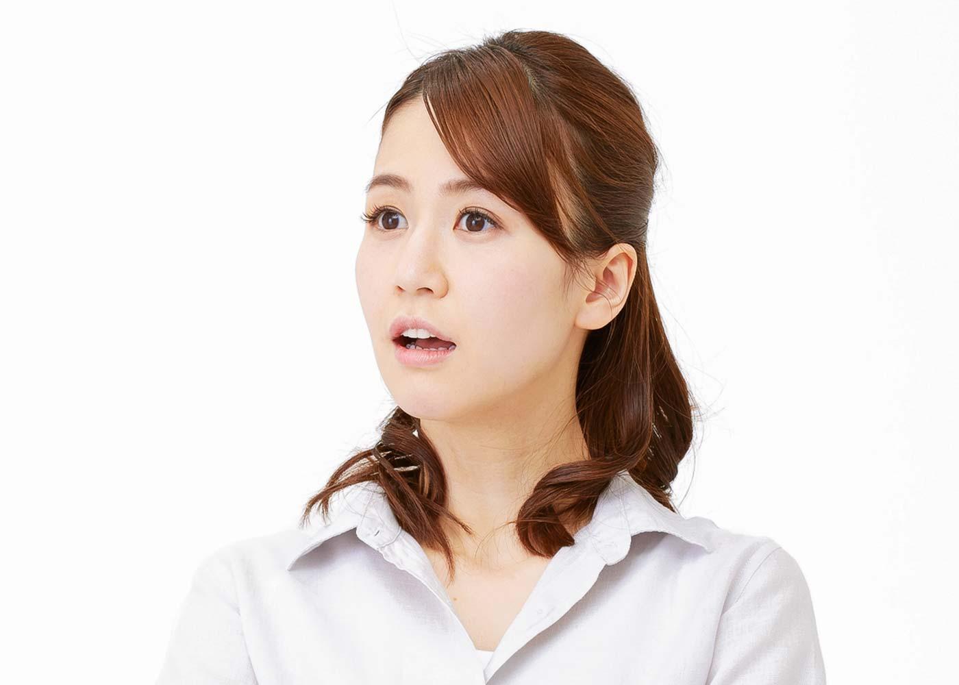 老化を促進するNG習慣2:口呼吸をしている
