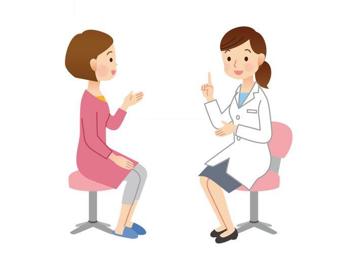 子宮頸がんの検診の流れ 3:問診