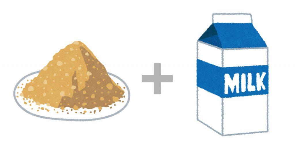 逆流性食道炎の咳対策3つ 1:きな粉ホット牛乳