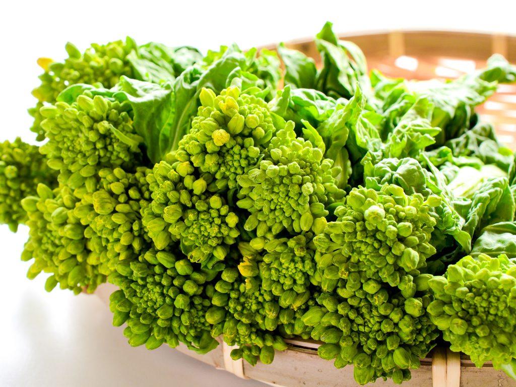 オススメのデトックス春野菜:菜の花