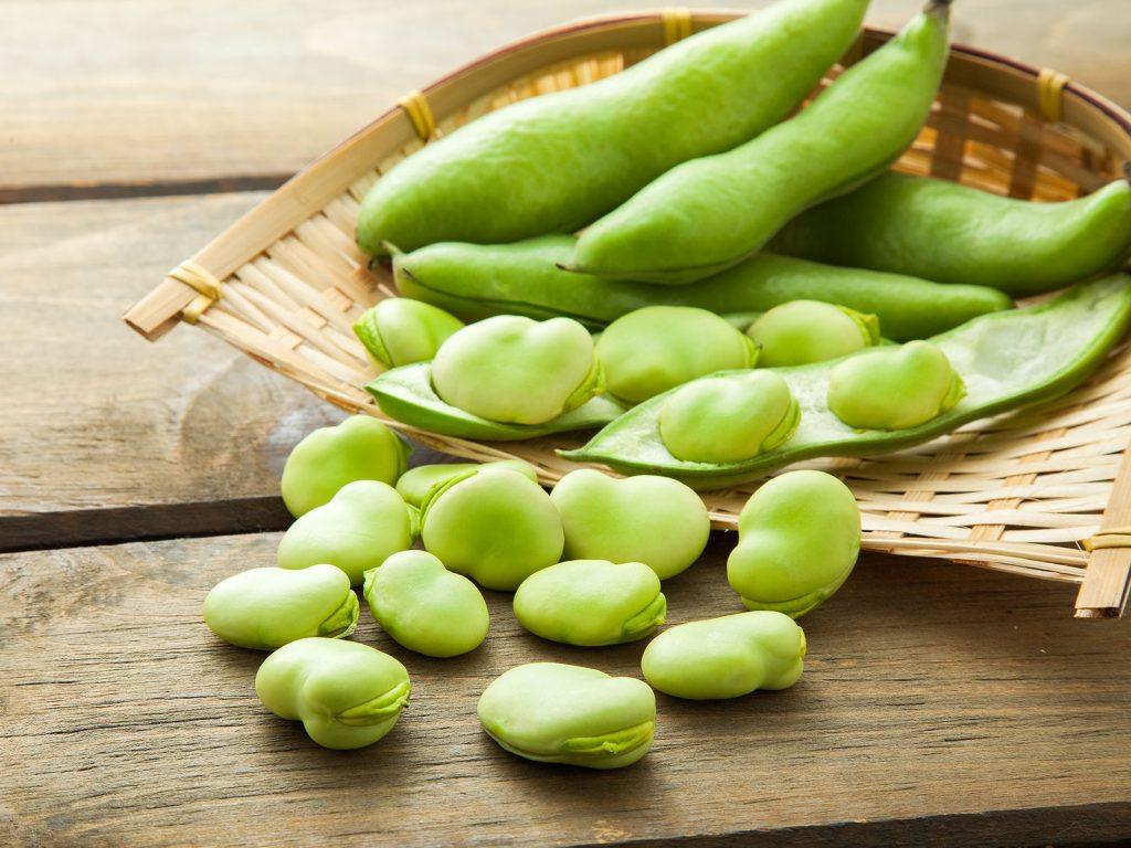 オススメのデトックス春野菜:そら豆