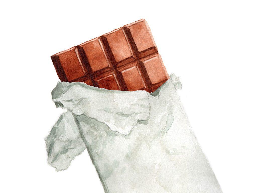 花粉症のNG食べ物:チョコレート
