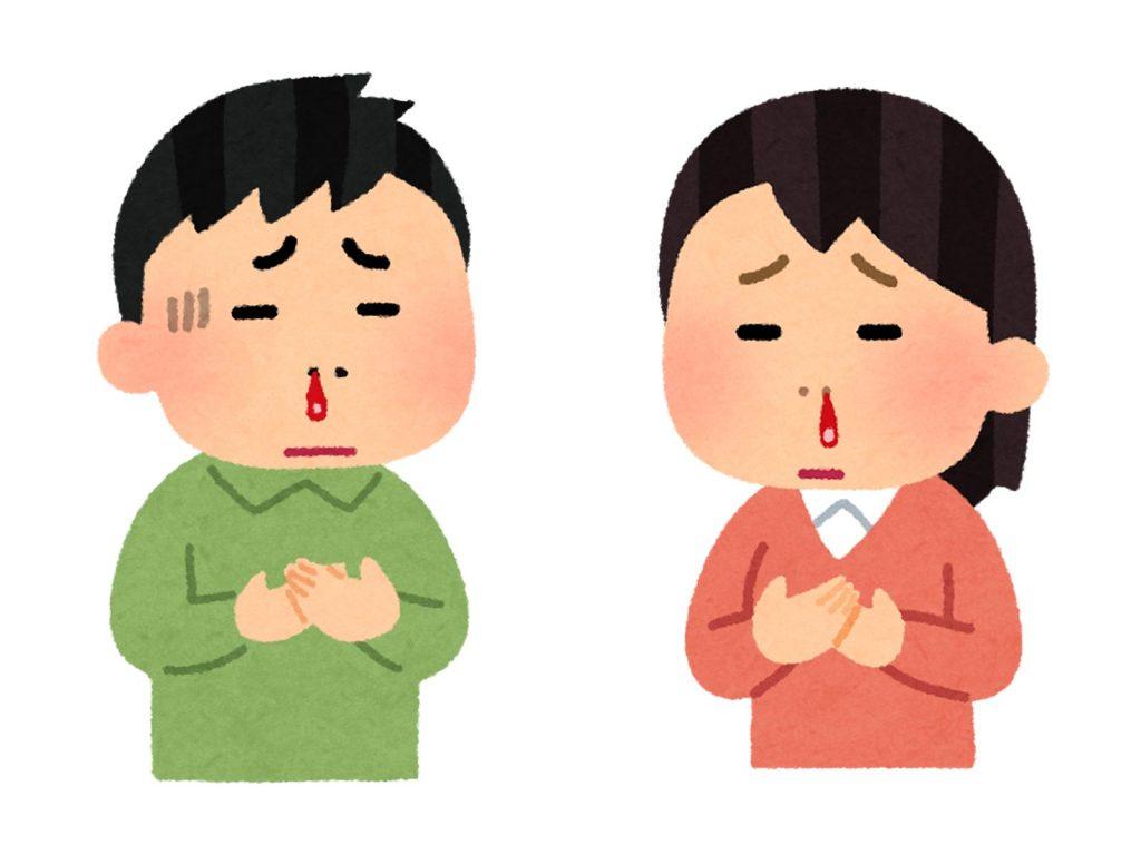 鼻血対策は、「触らない」、「保湿」、そして…