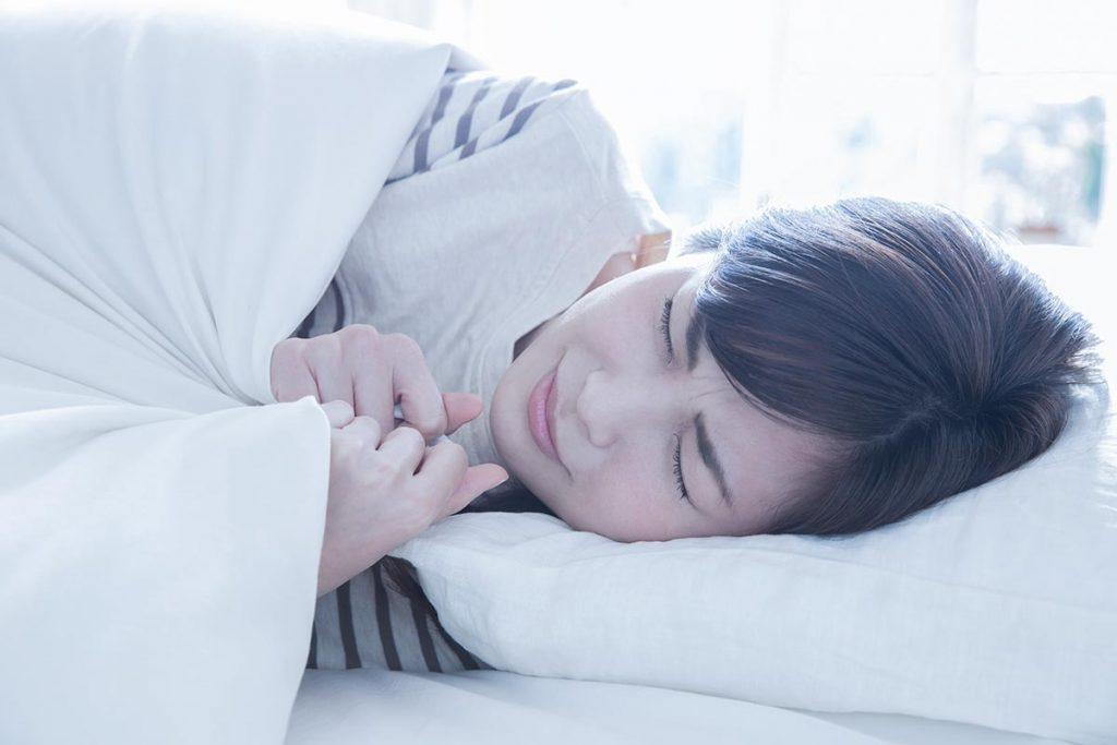 部屋が寒すぎることが眠りの妨げに?