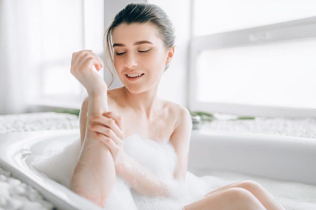 乾燥対策は入浴時と就寝時に