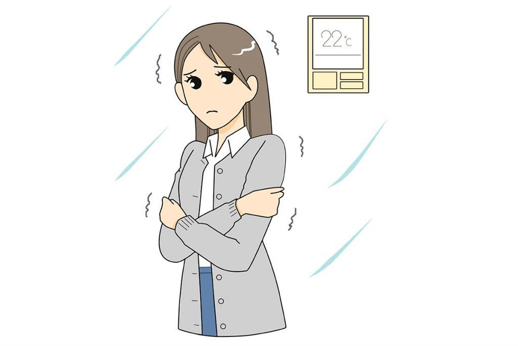 """女性は""""夏の冷え""""に注意"""