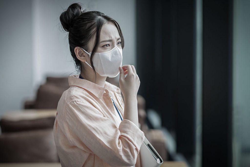 マスクをしていると口呼吸になりやすい?