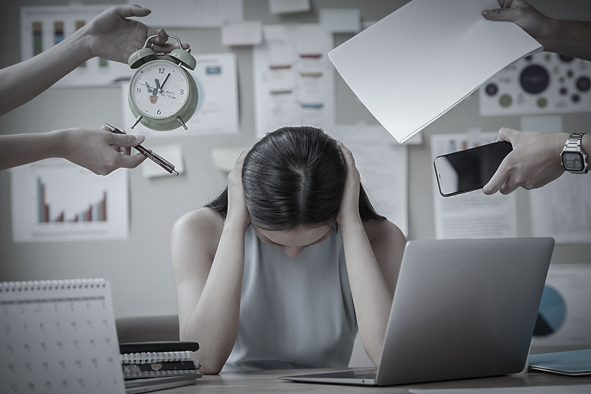 自律神経が乱れる原因はストレス